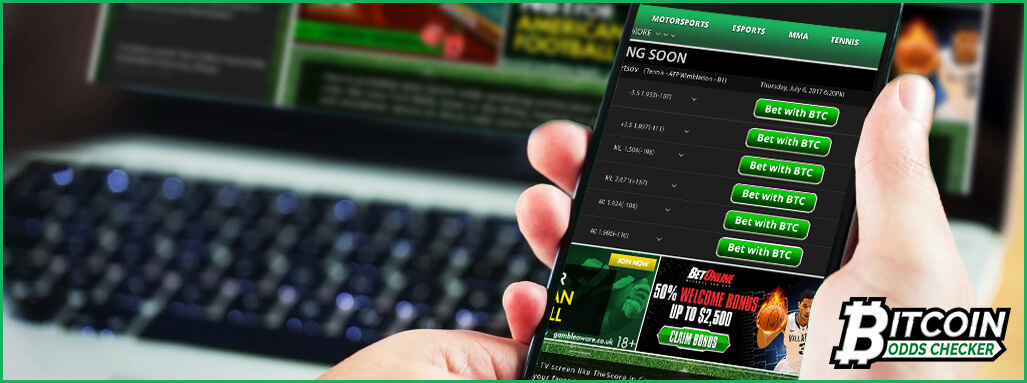 Bitcoinoddschecker - Win Bitcoins com Sportsbetting